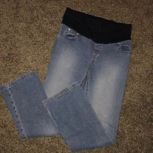 MIMI MATERNITY MEDIUM BAND JEANS SMALL